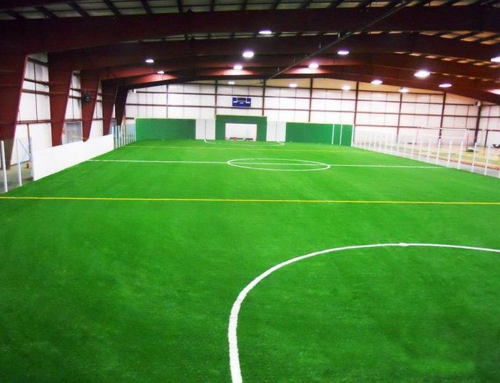 No Watering Synthetic Turf For Football Indoor Soccer Field Backyard Sports Soccer Field