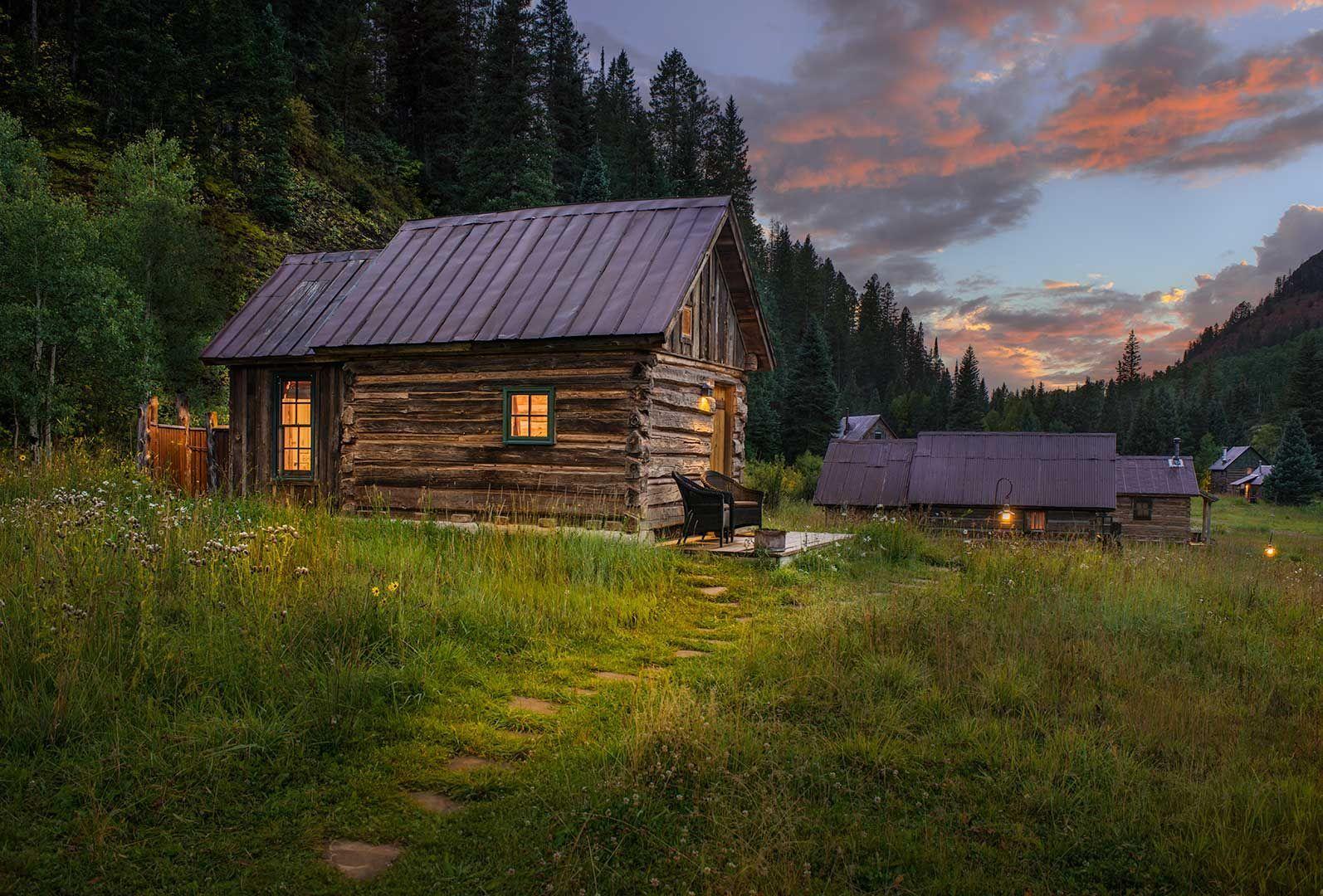 Echo cabin la casita del lago pinterest caba as el for Cabine del lago casitas