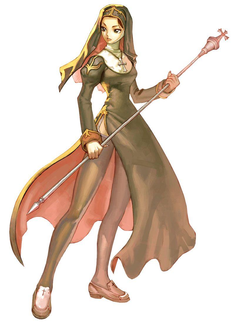 Priest Female Characters Art Ragnarok Online Female Characters Female Character Design Character Art