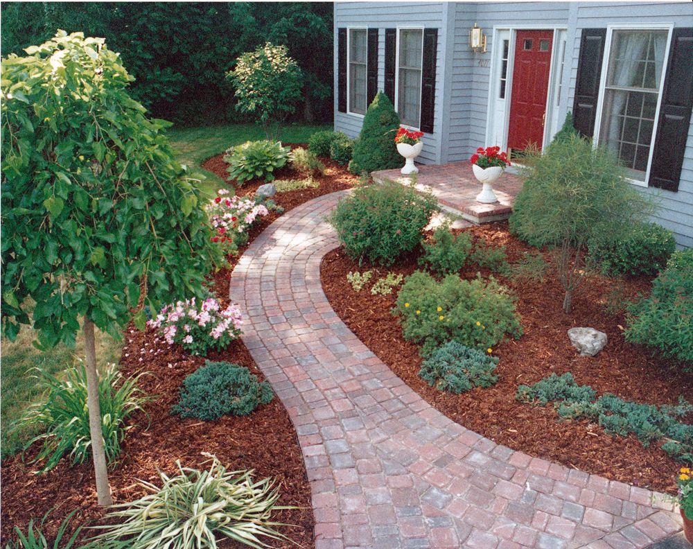 sidewalk design for homes - google search | gardening | pinterest