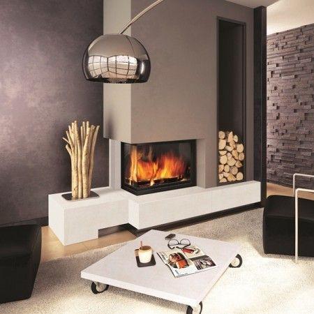 Epingle Par Avantages Habitat Sur Une Cheminee Pour Cocooner Au Coin Du Feu Cheminee Moderne Deco Salon Cheminee Design