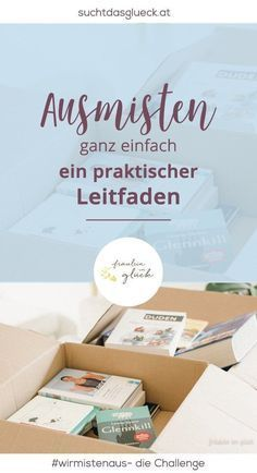 ausmisten ganz einfach ein praktischer leitfaden kampf dem chaos pinterest ausmisten. Black Bedroom Furniture Sets. Home Design Ideas