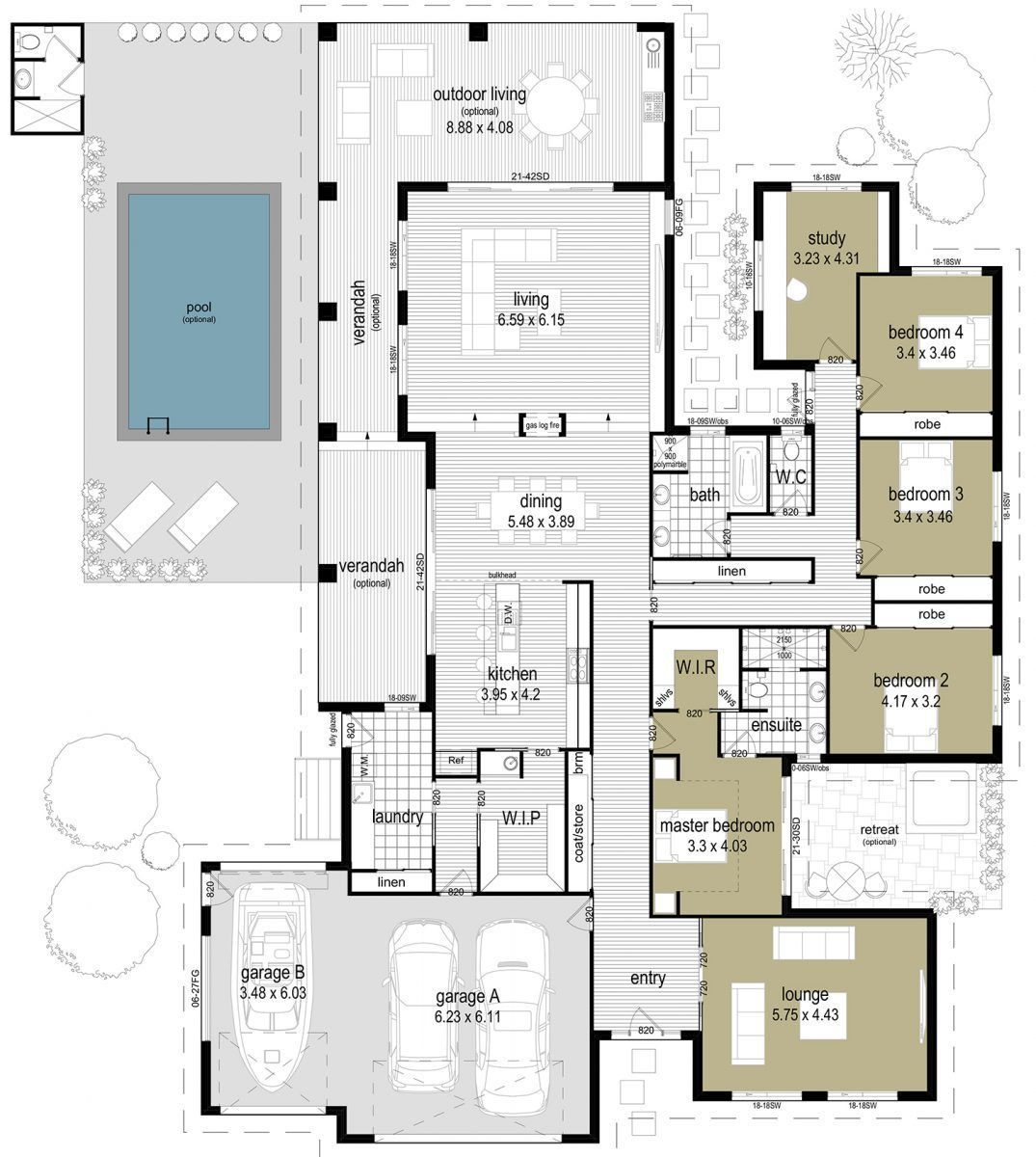 Outdoor Living House Plans In 2020 House Plans Dream House Plans Home Design Floor Plans