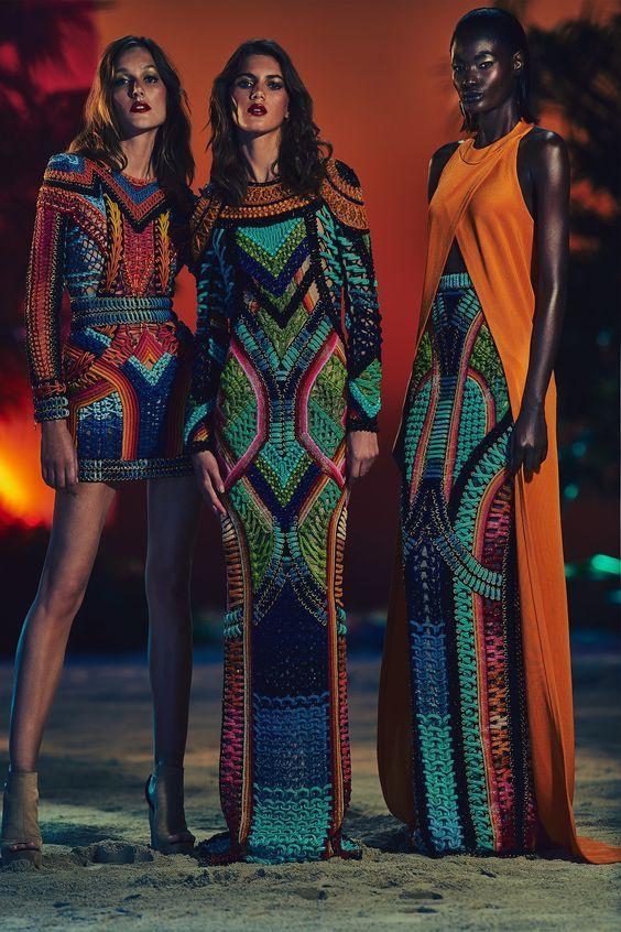 Estilo étnico Tribal En La Moda Hola Chicas El Estilo