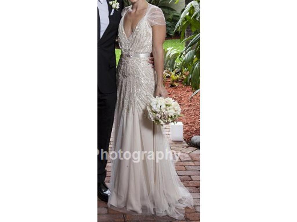 Jenny Packham Willow, $4,590 Size: 4 | Used Wedding Dresses | Jenny ...