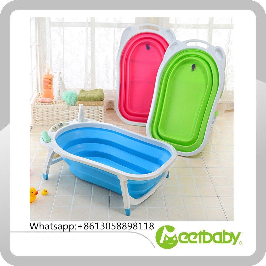 folding plastic baby bathtub,foldable baby bathtub | Baby bathtub ...