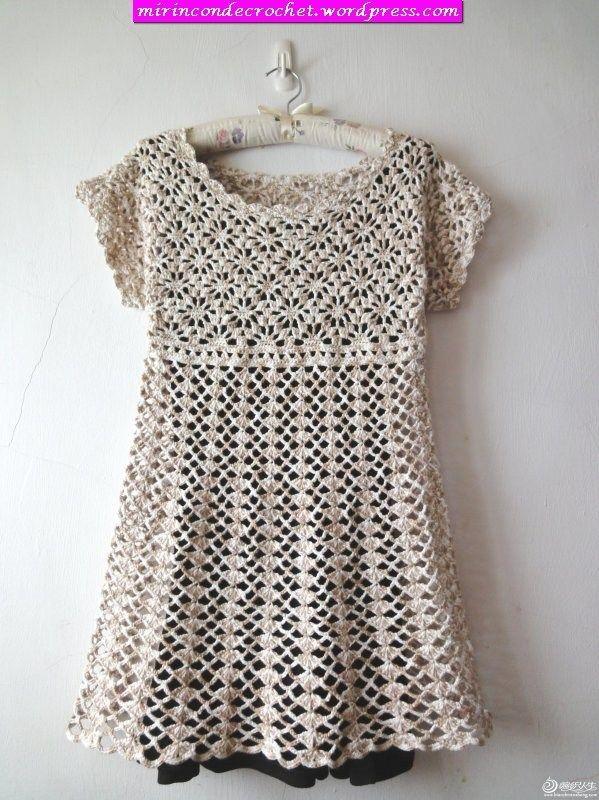 Pin By La Cellulose On Dress Pinterest Crochet Crochet Fashion