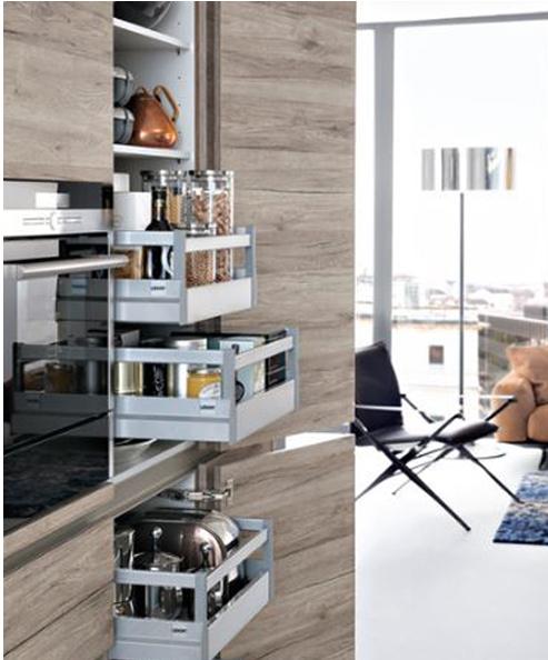 Cocinas con estilo - ideas para diseñar tu cocina  Claves para hacer más  eficiente el trabajo en la cocina c3e1d26a3b39