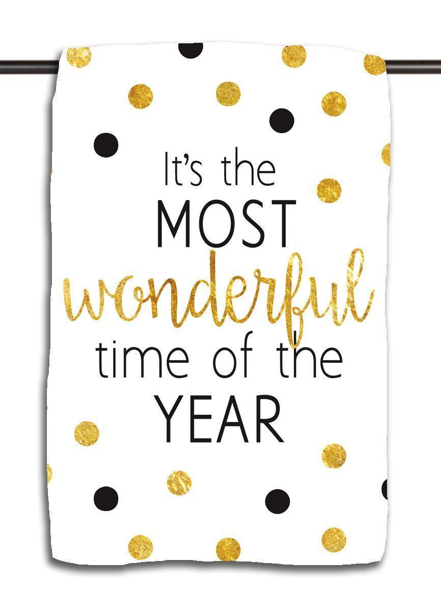 Wonderful Time of Year B&G Towel Wholesale