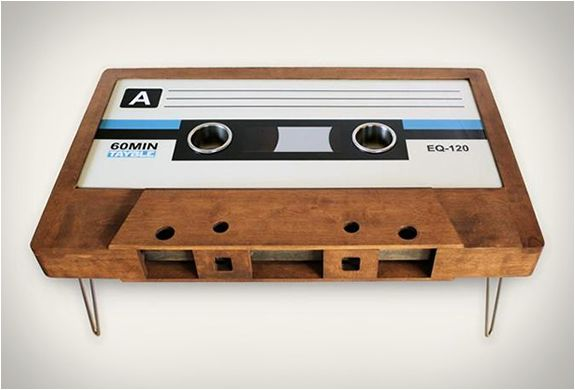 cassette tape coffee tables | coffee