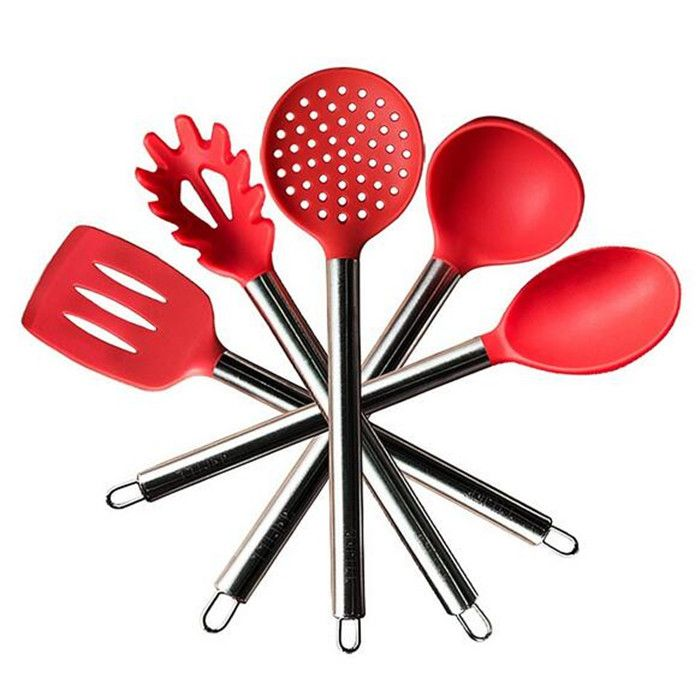 Safe Kitchen Ware Cooking Tools Utensils Review India Silicone Tool Set