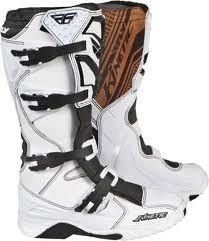 Fly Racing Kinetic Boot New White 363 553 Ebay Racing Boots Boots Racing