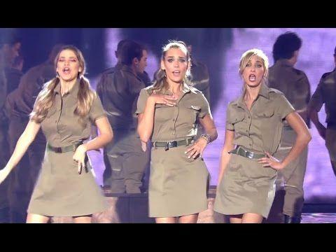IDF songs at children's Festival (Israeli soldiers Israel