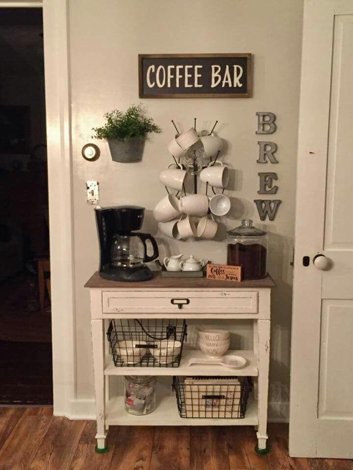 27 idées créatives de bar à café bricolage pour votre maison confortable - #bar #coffee #D .....