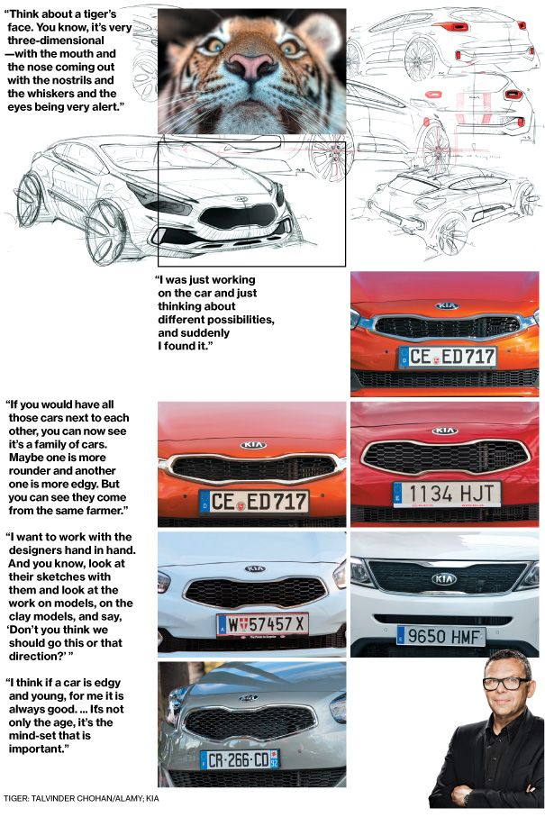 Reinventions How Kia Got Its Tiger Nose Kia Nose Tiger Face
