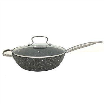 Briscoes Hampton Mason Perfection Non Stick Saute Pan 28cm