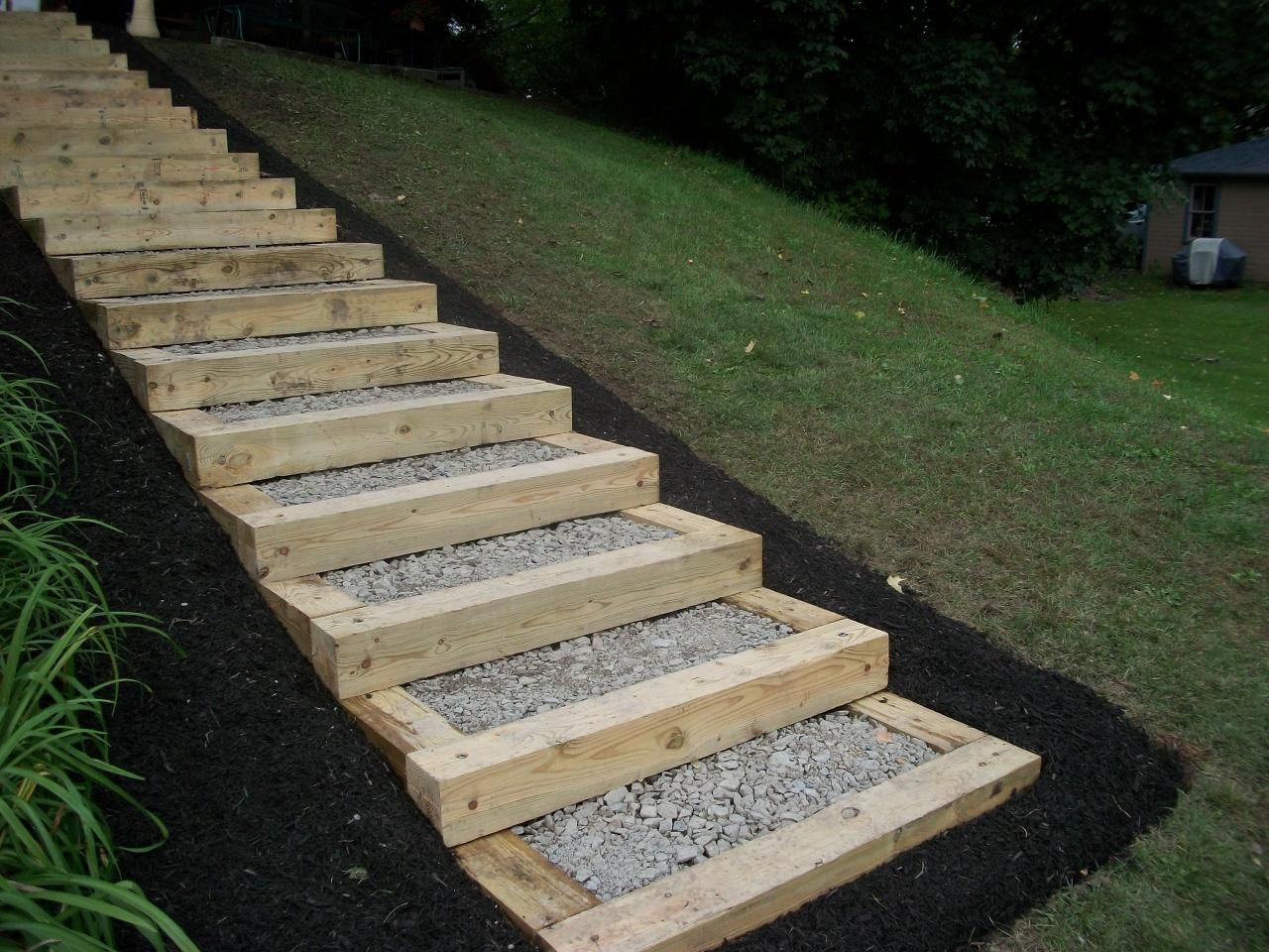 Best Building Timber Landscape Steps Timber Steps 31133415 640 x 480