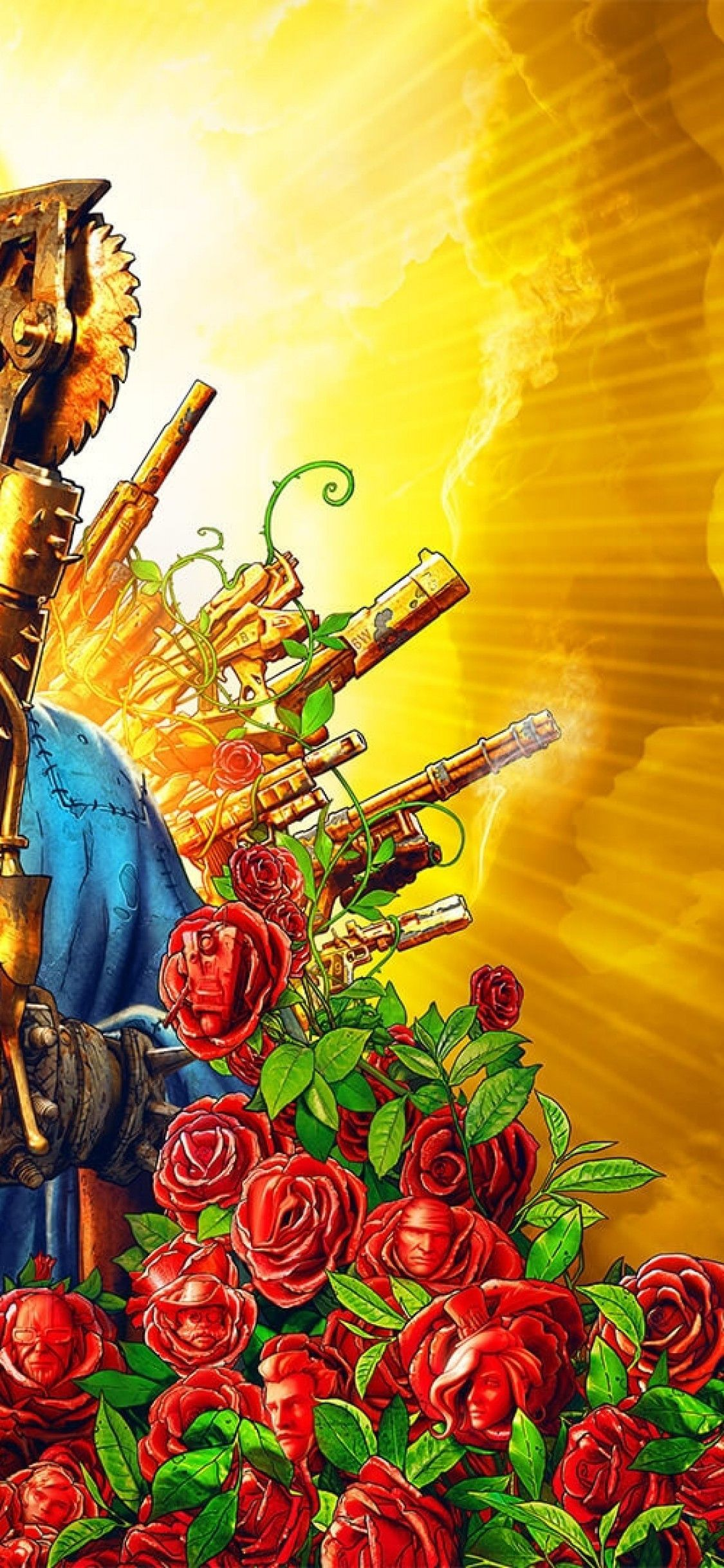 Borderlands Wallpaper Iphone Awesome Download 1125 215 2436 Borderlands 3 Artwork Flowers Ma Borderlands Wallpaper Iphone Borderlands Wallpaper Wallpaper