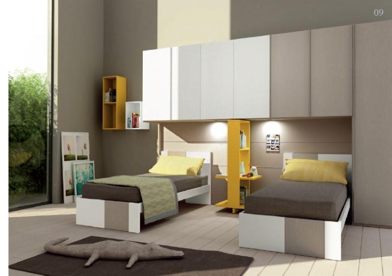 Composizione griff 09 cameretta completa cameretta la camera dei ragazzi quartos moveis e - Camerette per giovani ...