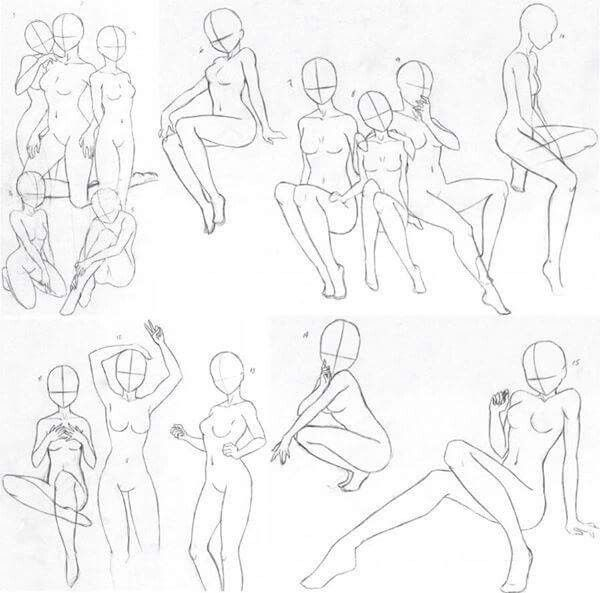Reference Anatomy Positions Anime Poses Reference Art Reference Poses Figure Drawing Reference