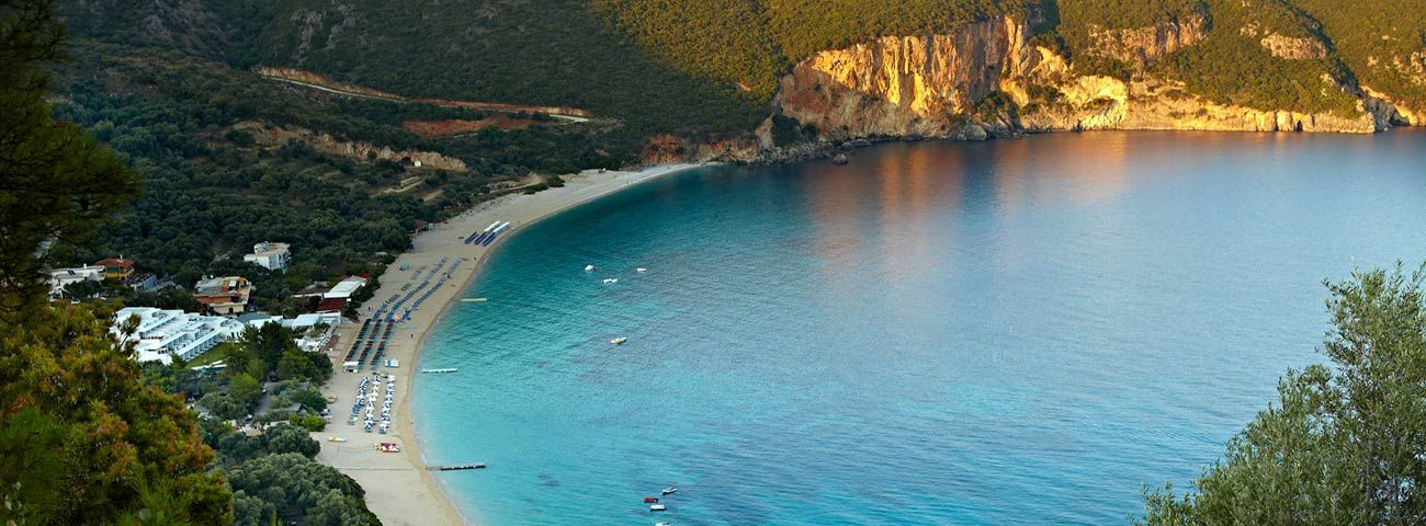 Lichnos Beach A Small Paradise In Greece With A Luxury