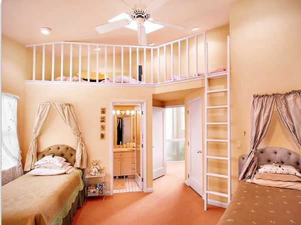 Teenage Girls Rooms Inspiration 55 Design Ideas Secret passage