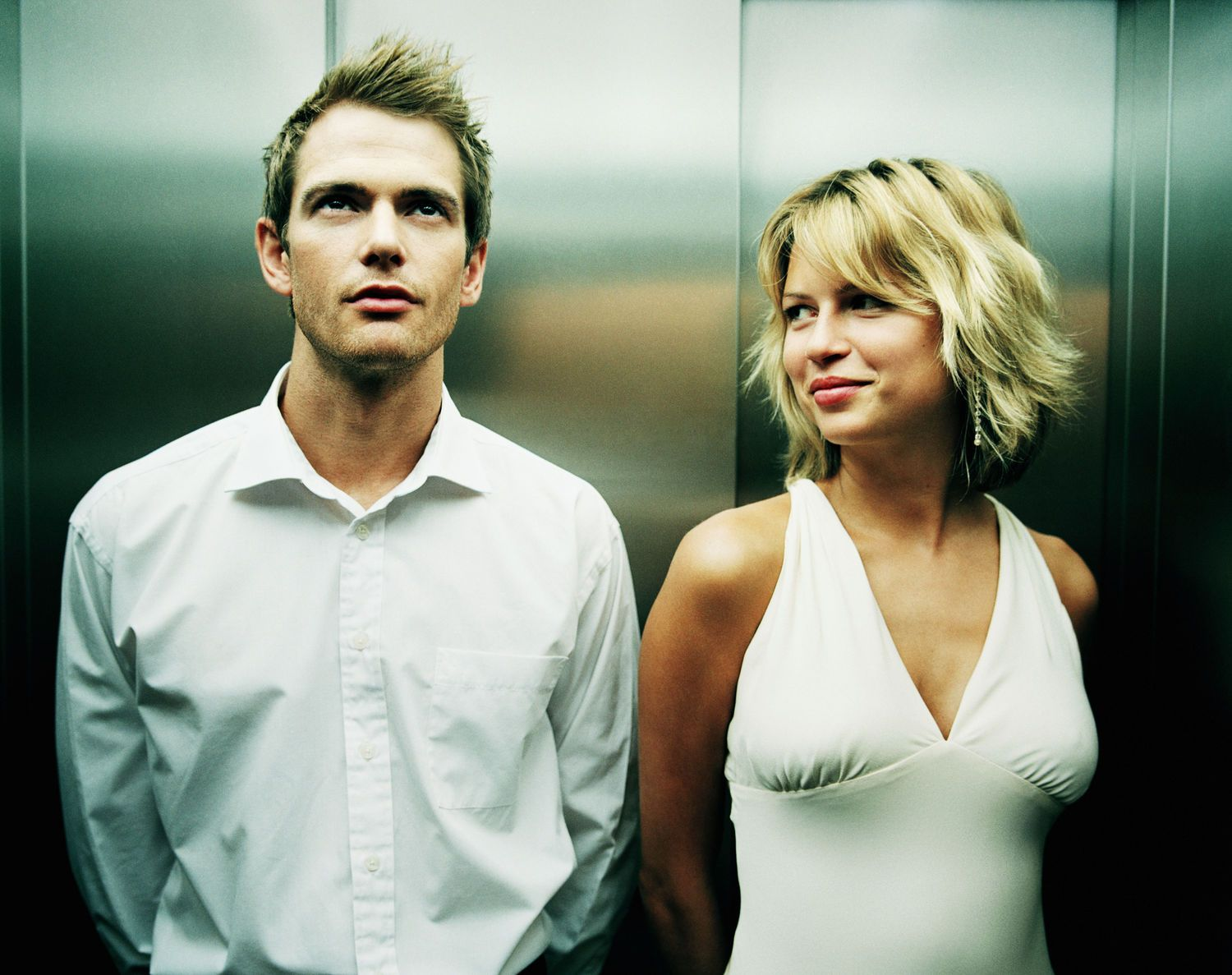 Image result for funny Men and women in the elevator