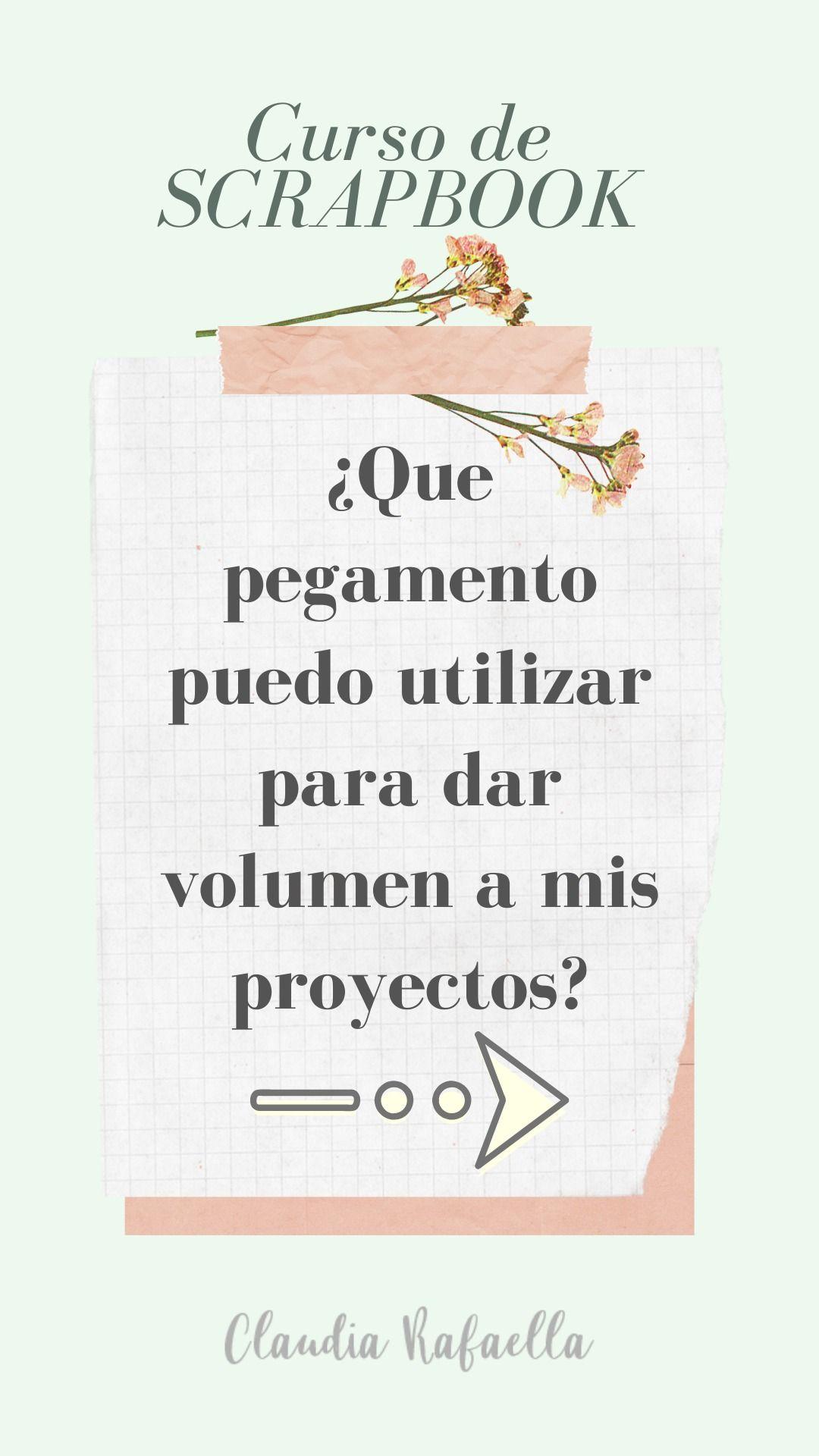 Curso Scrapbook Scrapbook En Espanol Scrapbooking Ideas En 2020 Manualidades Cursillo Pegamento