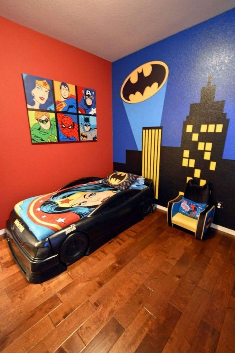 30+ Stunning DIY Batman Themed Bedroom Ideas for Your Little ...