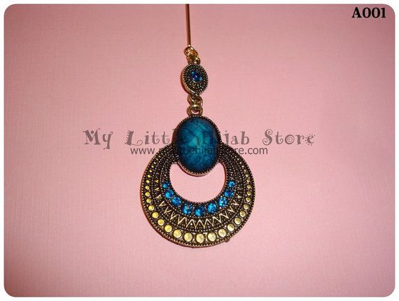 Party Hijab Pins Dangle Pin Hijab pin Hat by MyLittleHijabStore, $3.99