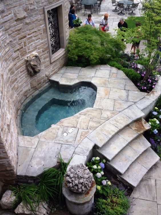 Gorgeous Small Hot Tub Ideas You Might Want to Steal #hottubdeck