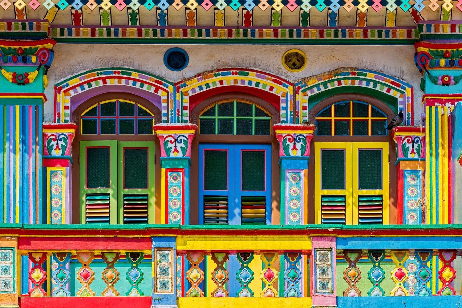 24 hours in Singapore Little india singapore, Colourful