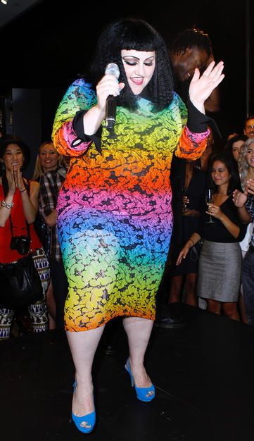 Got to love Beth Ditto.  Go to.