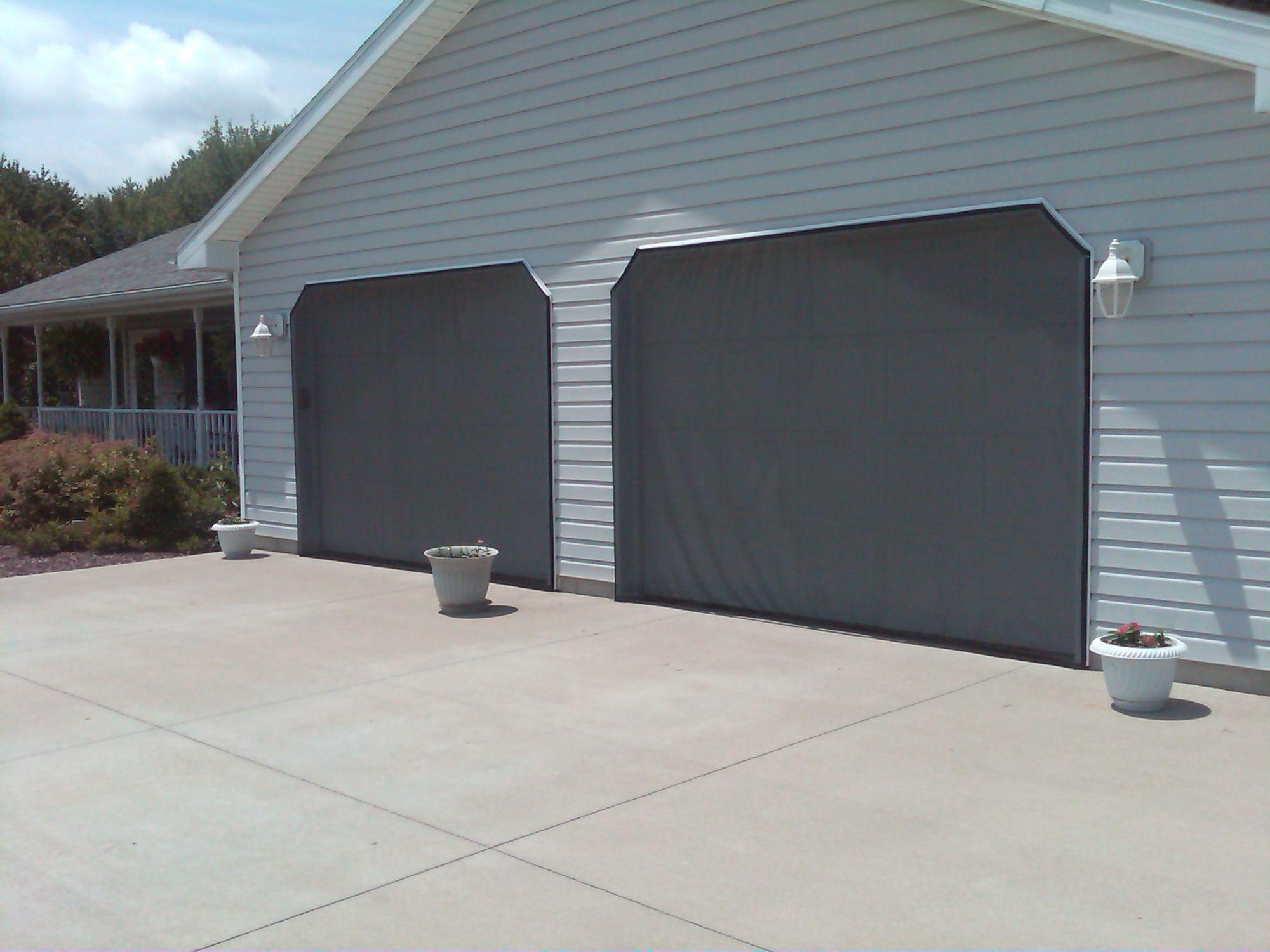 Garage Door Screens Garage Doors Garage Screen Door Doors