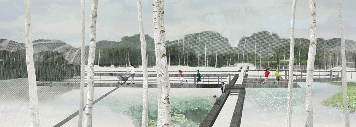 Seoul Landscape on Behance