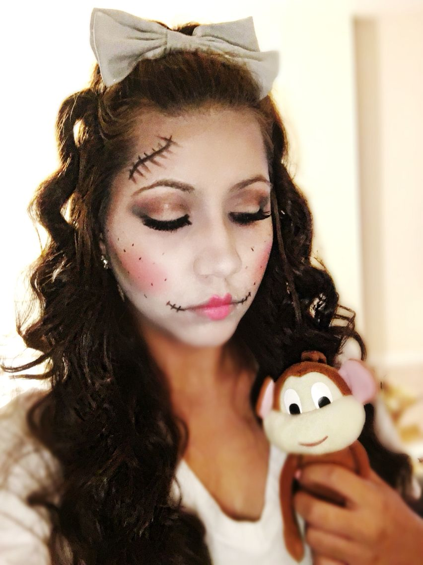 Dead Glam Doll Halloween Makeup Details will be posted