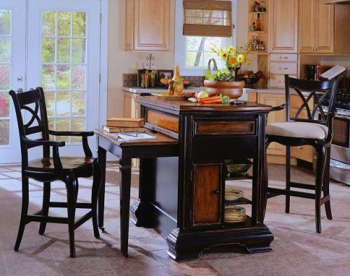 Moveable Kitchen Island With Seating