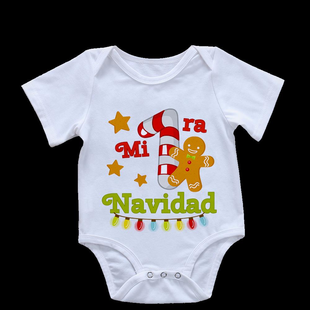 Bodys Para Bebe Navideños Ropa Navidad Bebe Estampados De Bebé Pijamas Navideños