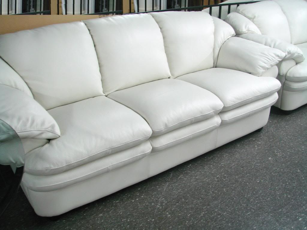 4th of July Salenatuzzi salesofa salecontemporary leathermodern leather : natuzzi white leather sectional - Sectionals, Sofas & Couches