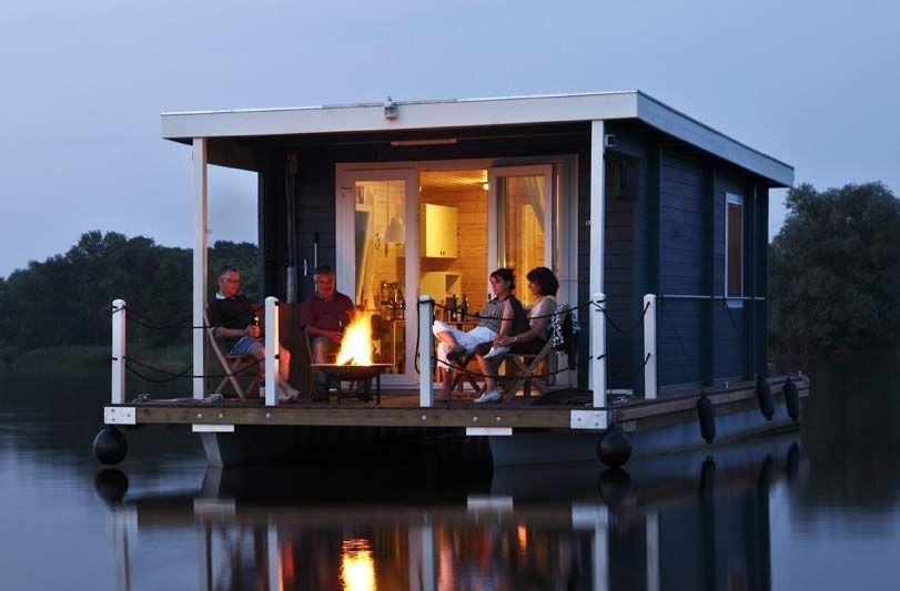 HausbootKurzurlaub für 4 Strandhäuser, Ferienhaus