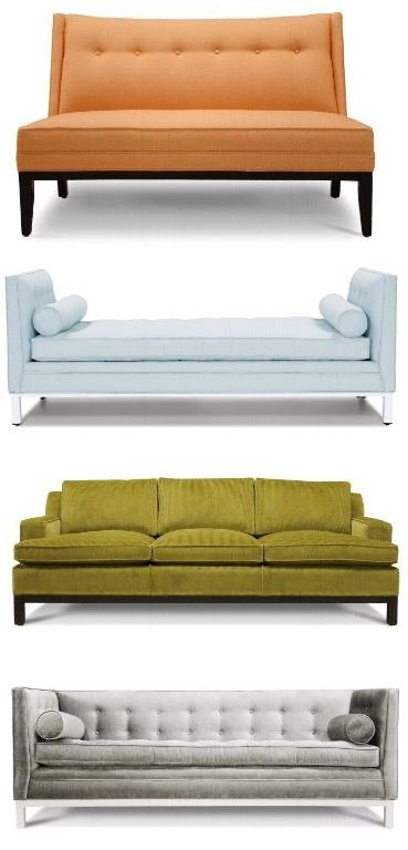 i usually like, warm...NOT modern things.  not fan of straight, clean lines or crazy colors. however, i like these!