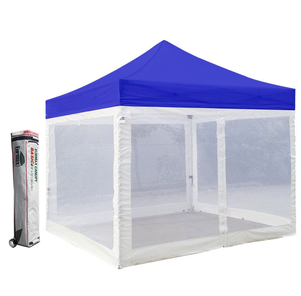Commercial 10 Ft W X 10 Ft D Steel Pop Up Canopy Pop Up Canopy Tent Canopy Canopy Tent
