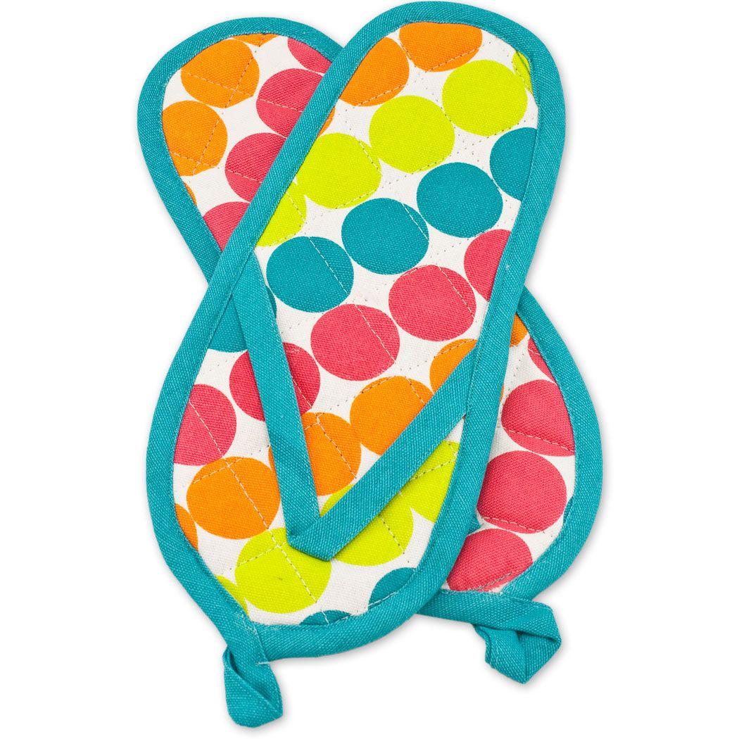 Flip Flop Novelty Items   ... > Palmetto Kitchen Accessories > Polka ...