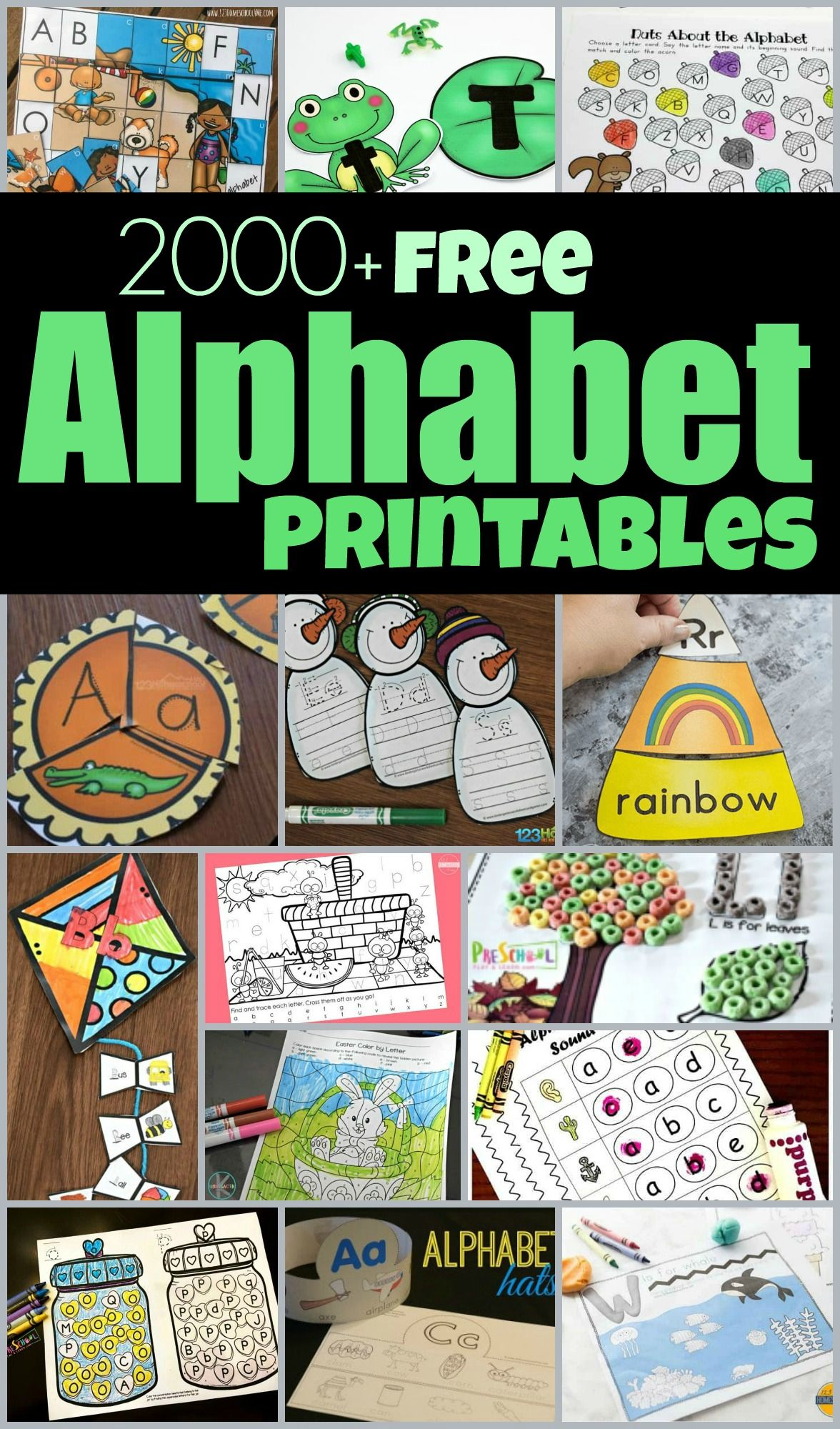 Free Alphabet Printables In