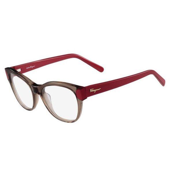 4f594f97206de Salvatore Ferragamo SF 2756 258 Eyeglasses ( 165) ❤ liked on Polyvore  featuring accessories