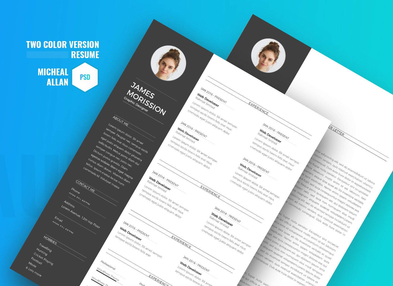 Our resume templates are tailored to fit the position you