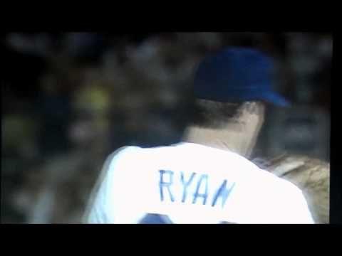 NOLAN RYAN VS BO JACKSON (bloody lip) - http://sports.artpimp.biz/baseball/nolan-ryan-vs-bo-jackson-bloody-lip/