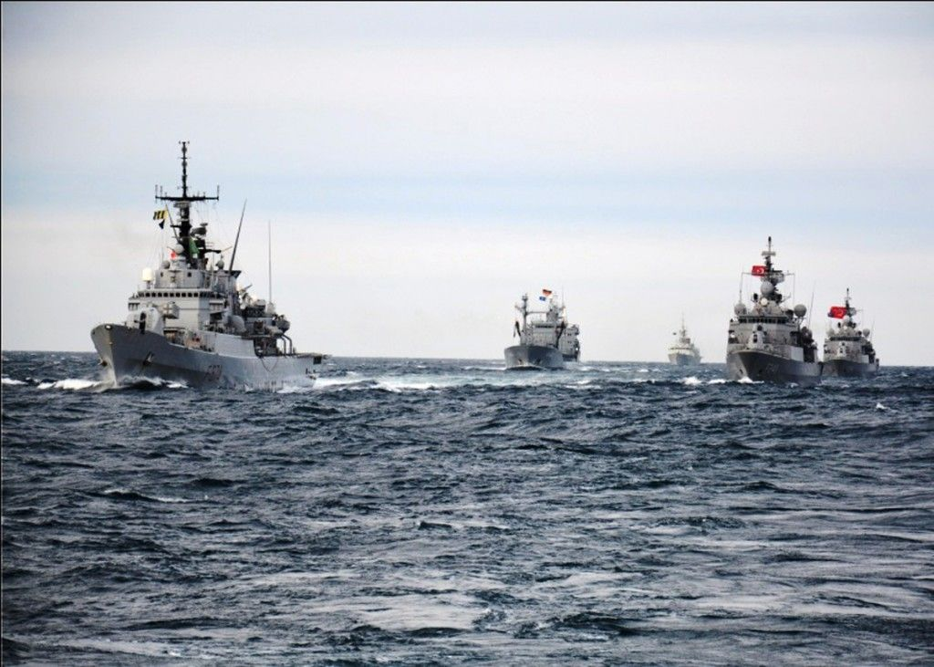 NATO ships assigned to Standing NATO Maritime Group Two (SNMG2) recently completed exercises in the Black Sea with ships from the Turkish Navy.  SNMG2 is in the Black Sea to assure allies in the region of the Alliance's commitment to collective defence and to enhance NATO's maritime force interoperability.  Led by Rear Adm. Brad Williamson (USA N), SNMG2 is currently comprised of the flagship USS Vicksburg (CG 69), HMCS Fredericton (FFH 337), TCG Turgutreis (F 241), FGS Spessart (A 1442)…