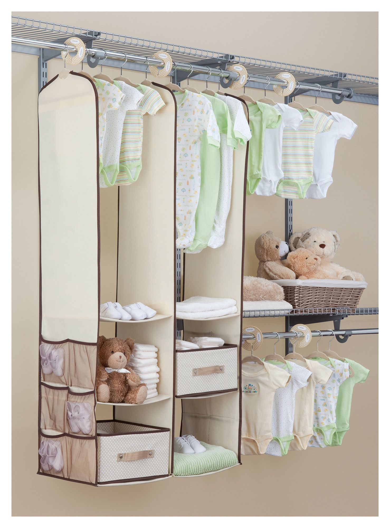 Delta Children 24 Piece Nursery Closet Organizer Set Wayfair