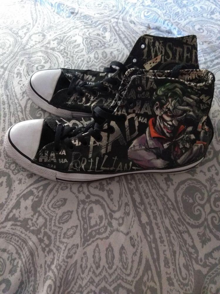 f6d4921ca704 Converse Chuck Taylor All Star Hi Joker Sneaker Black Suicide Squad ...
